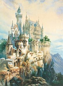 Entwurf zur Burg Falkenstein