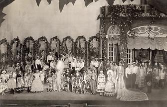 Aufführung der Operette: Rosen aus Florida