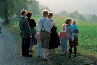 Familie im im Ötscherland