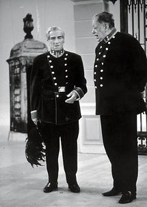 Karl Farkas und Ernst Waldbrunn