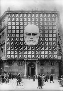 Wahlpropaganda in Rom