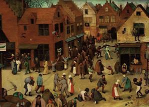 Carneval und Fastenzeit, Detail
