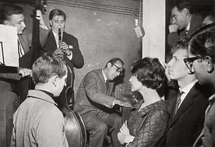Fatty George und Friedrich Gulda in Fattys Saloon