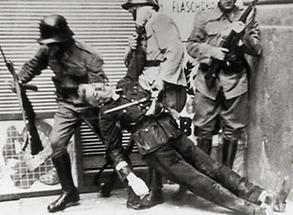 Opfer des Februar-Aufstandes