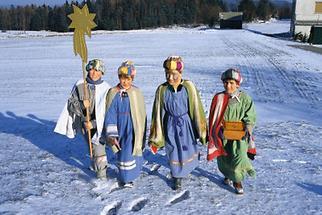 """Die """"Heiligen Vier Könige"""" des Waldviertels"""