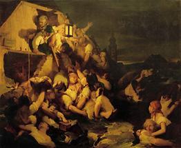 Überschwemmungskatastrophe in Wien 1830