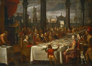 Hochzeitsbankett für Großherzog Ferdinand I