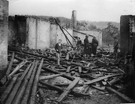 Großfeuer in Enzesfeld