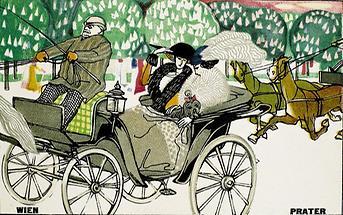 WW-Postkarte Wien Prater.