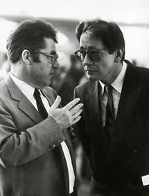 Heinz Fischer und Ferdinand Lacina