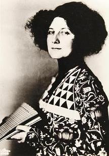 Modedesignerin Emilie Flöge