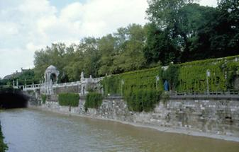 Der Wien-Fluss im Stadtpark