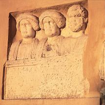 Römisches Relief in Schloß Seggau, Steiermark