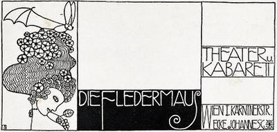 Briefcouvert des Cabaret Fledermaus