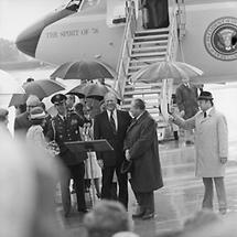 Gerald Ford in Salzburg