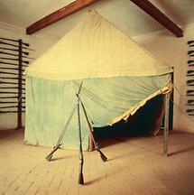 Türkisches Zelt im Museum der Burg Forchtenstein