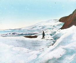 Der Gletscher von Franz-Joseph-Land