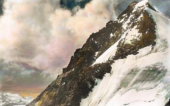 Gipfel des Großglockners in Tirol/Kärnten