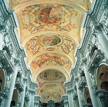 Deckenfresken in St. Florian