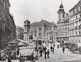 Die Freyung in Wien I.