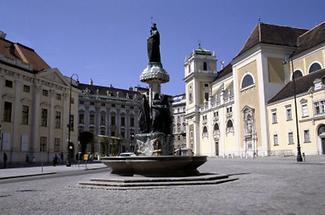 Austriabrunnen auf der Freyung