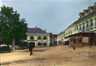 Hauptplatz in Friedberg