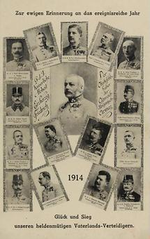 Bildpostkarte. Erster Weltkrieg. Propaganda. (1)