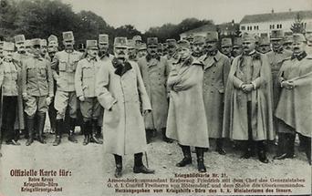 Bildpostkarte. Erster Weltkrieg. Propaganda. (2)