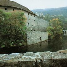 Wassergraben in Friesach
