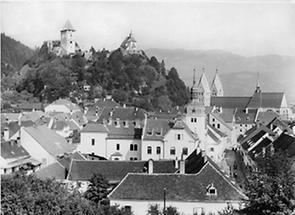 Stadtansicht von Friesach