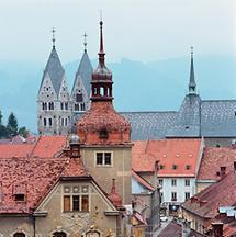 Stadtansicht Friesach, Kärnten