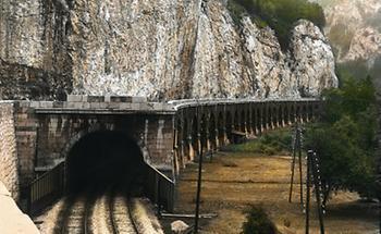Eisenbahntunnel bei Frohnleiten