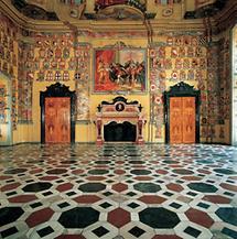 Großer Wappensaal im Landhaus Klagenfurt