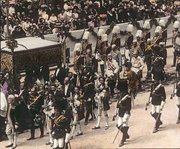 Die Fronleichnamprozession mit Kaiser Franz Joseph