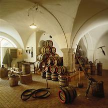 Historische Bierfässer