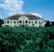 Gartenfassade von Schloss Schönborn