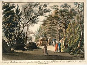 Garten des Freiherrn Peter Friedrich von Braun