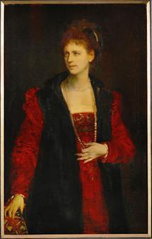Portrait von Zerline Gabillon