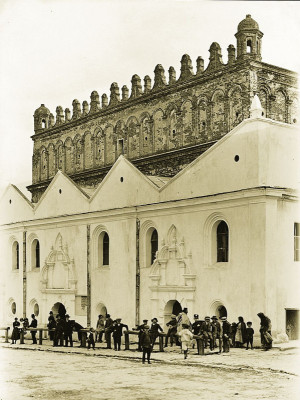 Synagoge in Zolkiew, Galizien, © IMAGNO/Austrian Archives