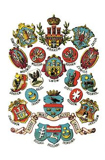 Wappen polnischer Städte in Galizien