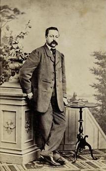 Portrait Franz Ludwig von Gallois