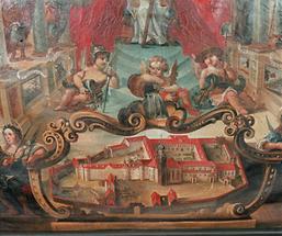 Gemälde der Klosteranlage