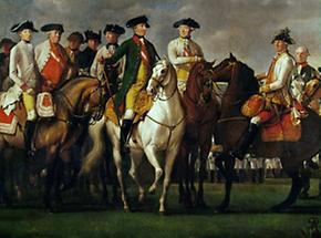Kaiser Joseph II und sein Generalstab