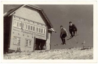 Skifahrer auf der Gerlitzen