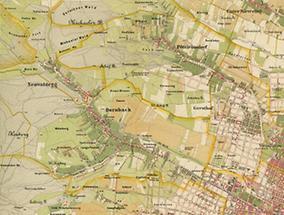 Teile der Wiener Bezirke Hernals und Währing