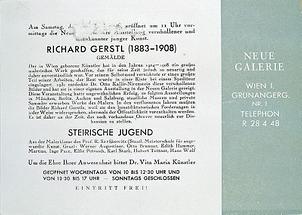 Einladung der Neuen Galerie
