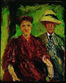Paar im Grünen