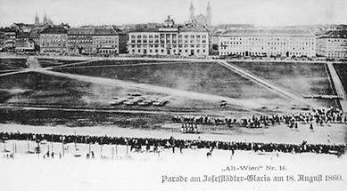 Parade am Josefstädter Glacis