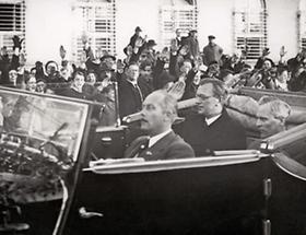 Bundesminister Arthur Seyss-Inquart in Linz