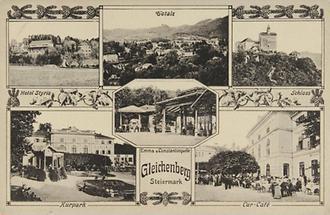 Postkarte aus Gleichenberg